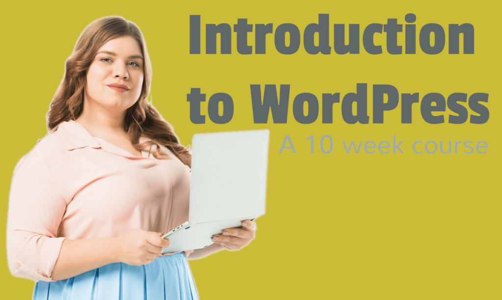 Learn how to use WordPress in 10 weeks