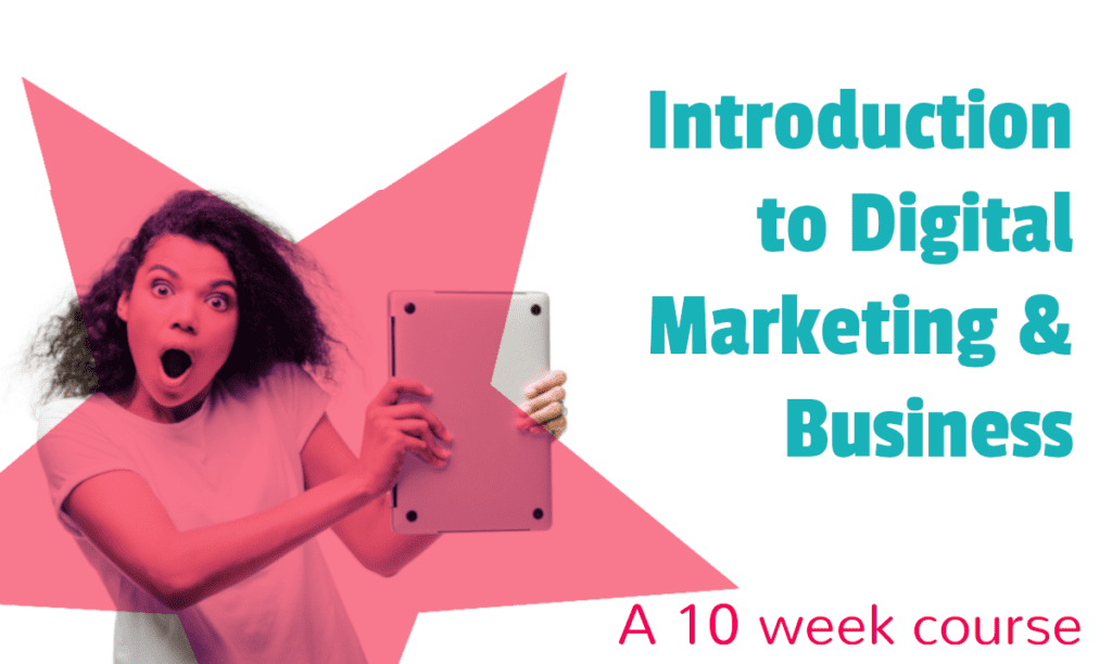 Register for Introduction to Digital Marketing & Business in Rathmines College